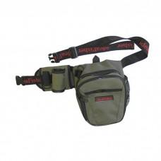 ideaFisher Stakan Бродяга – универсальная набедренная сумка со съёмным держателем удилища