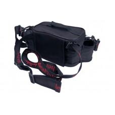 Stakan-100 Лайтовик ЧЕРНЫЙ Шейно-поясная сумка с держателем удилища