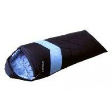 Спальный мешок Adventure 300SQ молния R (black 700/lt.blue 802) Campus