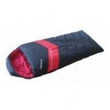 Спальный мешок Adventure 500SQ молния L (black 700/red 200) Campus