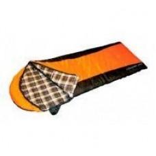 Спальный мешок Cougar 250 молния L(black 700/orange 300) Campus