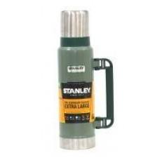 Термос Stanley Classic Vac Bottle Hertiage 1.3л. зеленый/серебристый