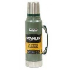 Термос Stanley Legendary Classic 1л. темно-зеленый/серебристый