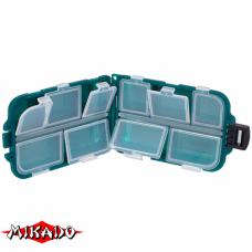 "Арт.UABM-003 Коробка рыболова ""Mikado"" ( 10,2 х 6,5 х 2,9 см ) (ABM-003)"