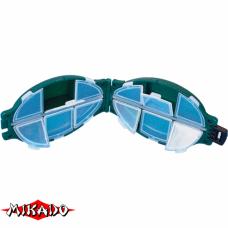 """Арт.UABM-004 Коробка рыболова """"Mikado"""" ( 11,2 х 7,4 х 3,2 см ) (UHS-004)"""