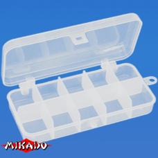 "Арт.UABM-009 Коробка рыболова ""Mikado"" ( 13,2 х 6,2 х 2,5 см ) (ABM-009)"