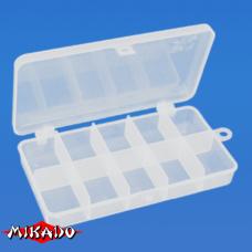 """Арт.UABM-017 Коробка рыболова """"Mikado"""" ( 17,7 х 9,4 х 2,9 см ) (UHS-017)"""